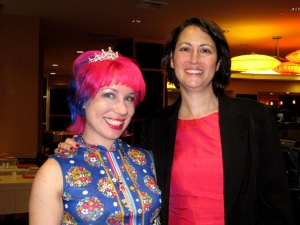 Queen Skittles & Laura Friedman on Election Night