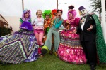 Violet, Jesselynn, sidekick, Mark, Fuchsia, Count Smokula